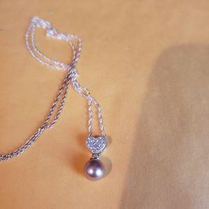 Vantel pearls sweet kisses necklace